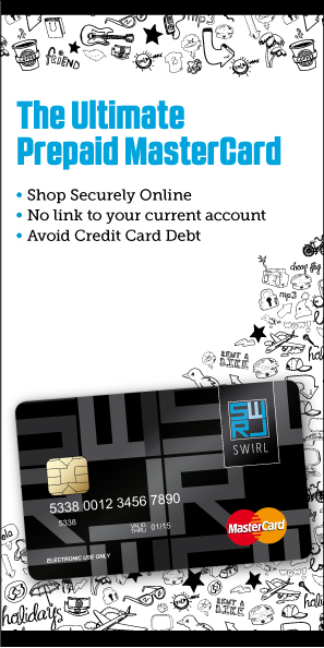 Best prepaid MasterCard in UK - Swirlcard