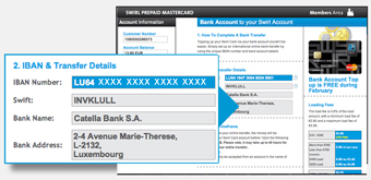 Retrieve Our Bank S Details And Your Unique Iban Number