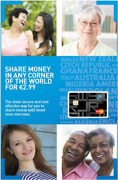 Cheapest way to send money abroad from Ireland